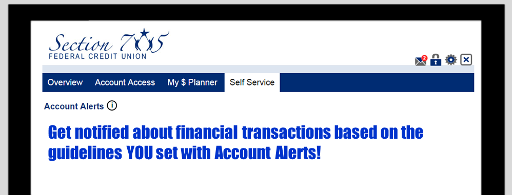 Get notified about financial transactions based on the guidelines YOU set with Account Alerts! YouTube.com