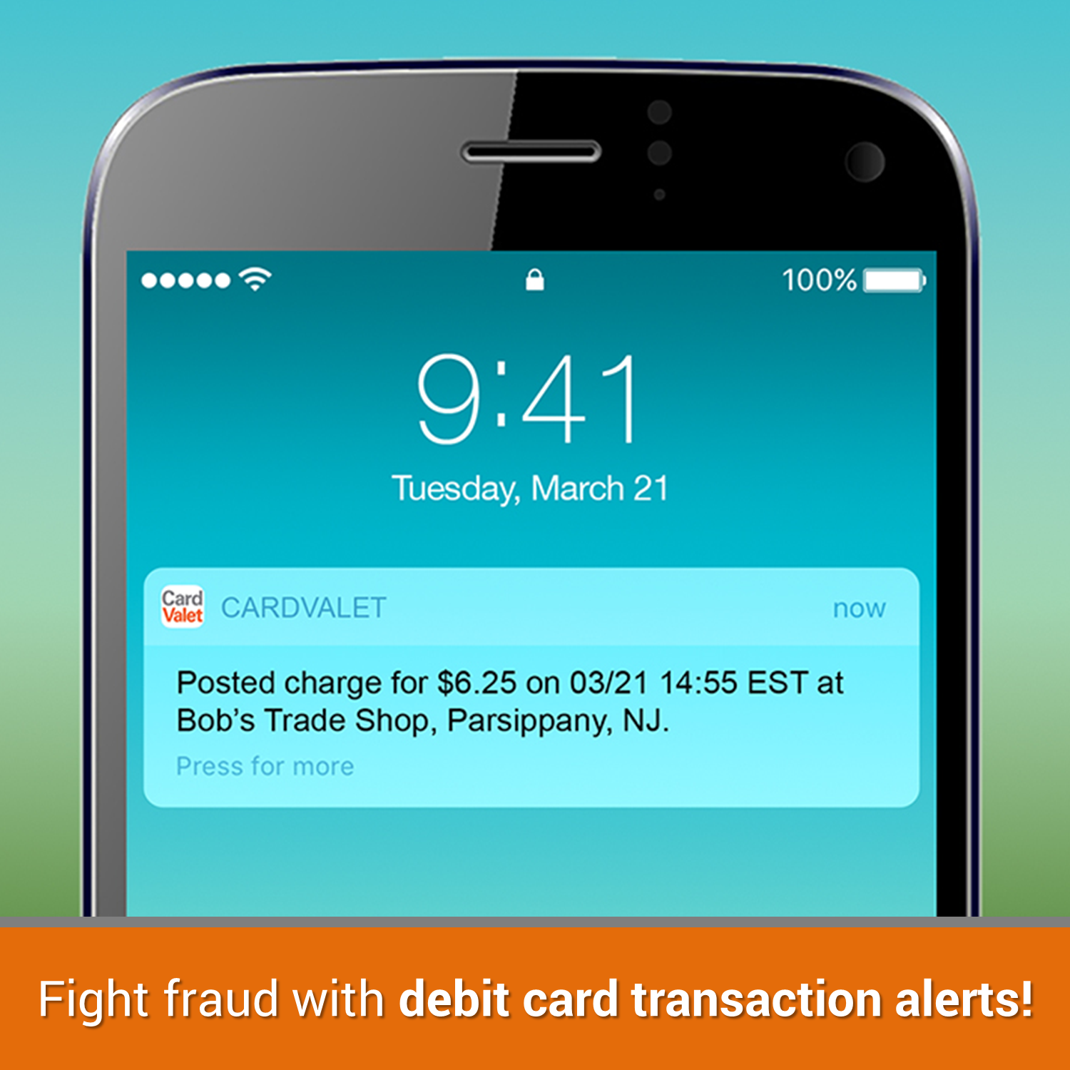 Fight fraud with debit card transaction alerts!